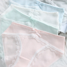 Buy SP&CITY Japan Style Sweet Girl Cute Underwear Lace Sexy Panties Sex Thong Winter Knitted Seamless Briefs Women Cotton Panties