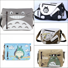 Japan anime My Neighbor Totoro  Shoulder Bag Messenger Canvas BagSling Pack My Neighbor Totoro Cosplay bag 11 style