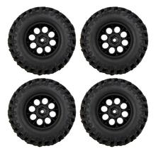 Wholesale!100% 4X 1/10 Climber Off-road Car Wheel Rim+Tire 260001 for Traxxas HSP RC Car(China)