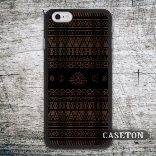 Tribal Aztec On Wood font b Case b font For iPod 5 and For font b