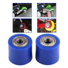 8mm 10mm Drive Chain Roller Pulley Wheel Slider Tensioner Wheel Guide For Street Bike Enduro Motorcycle Motocross ATV CRF CR XR(China)