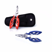 Outdoor Fishing Pliers Line Cutter Lure Scissors Remove Hook Remover Tackle Tool Bag Camping Multi - Online Gym Store store