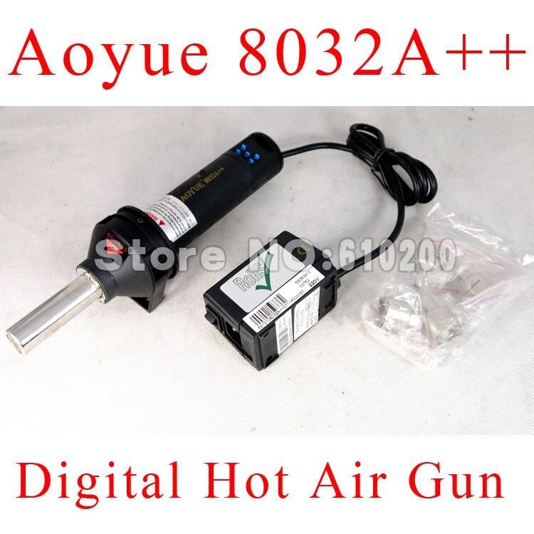 Free shipping AOYUE 8032A++ Handheld Removable Digital BGA Rework Solder Station Hot Air Gun BGA Desoldering Station 220V 550W<br><br>Aliexpress