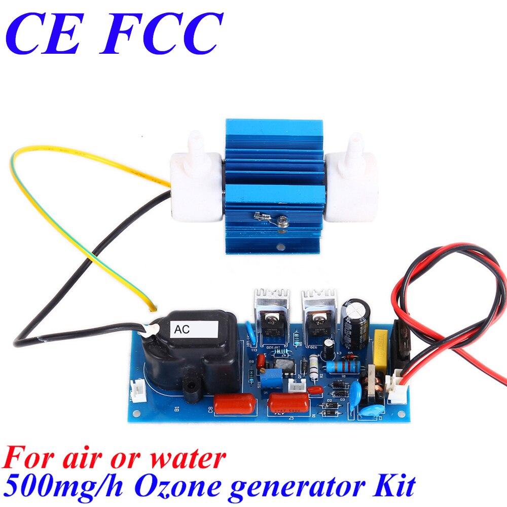 CE EMC LVD FCC sauna bath small portable ozone generator 500mg/h<br>