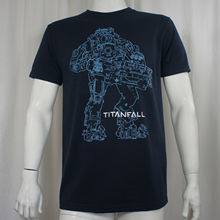 OKOUFEN Authentic TITANFALL Video Game Atlas Mech Robot Outline Logo T-Shirt S-3XL NEW men's t-shirt(China)
