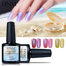 HNM 24 Color 10ML Nail Gel Polish Shell Hybrid Gel Varnish Lucky Semi Permanent Pearl GelLak Chameleon Gelpolish Gel Nail Polish(China)