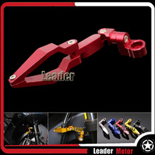 Universal Motorcycle Accessories Brake Line Clamp For KAWASAKI NINJA 250 NINJA 300 ZX-10R ZX-6R Versys 650 Versys 1000 Red(China)