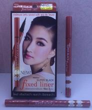 Thailand Genuine Mistine Very fine 0.05mm Red Eyeliner Liquid 1g Super Black Fixed Liner Sweatproof Long-lasting Free Shipping