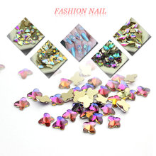 Crystal AB Multiple styles rhinestone 20pcs nail shape manicure nails 3d decorations beauty supplies glitter