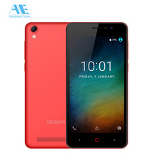 Doopro P3 MT6580 Quad Core 4200mAh Battery 5MP Android 6.0 Mobile Phone 1GB RAM 2GB ROM Unlock 3G 5.0 Inch 854*480P Smartphone(China)