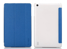 For Teclast X80 HD / X80 PLUS / P80-3G / X80 Pro 8 inch Tablet Plastic Leather Protective Case with Triple Folding Design+stylus