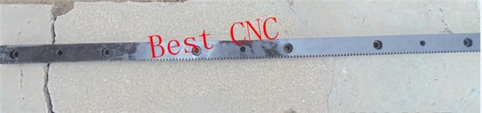 gear rack precision cnc rack (straight teeth) 1.25mod cnc router rack custom processing 22*25*671mm<br>