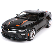 Maisto 1:18 2017 Camaro FIFTY 50 Anniversary Edition Sports Car Diecast Model Car Toy New In Box Free Shipping NEW ARRIVAL 31385(China)