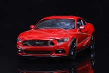 Diecast Car Model Welly FX Models 2015 Ford Mustang GT 1:24 (Red) + SMALL GIFT!!!!!!!!