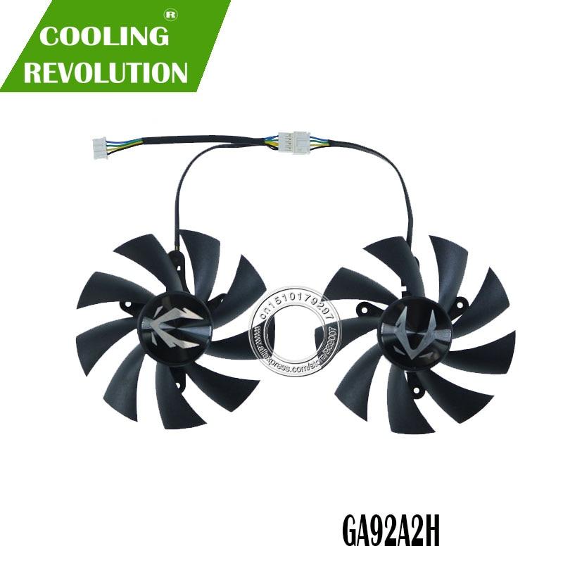 New original for ZOTAC GeForce GTX 1080 8GB Minii Graphics card fan DC12V 4PIN