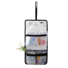 PVC Hanging Transparent Cosmetic Toiletry Bag Women Waterproof Makeup Pouch Travel Organizer Beauty Brushes Accessories Supplies