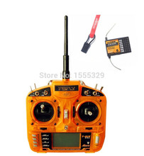 Coolhobby FSFLY 2.4GHz 6 CH Transmitter,Radio with S600 Receiver Surpass DX6i JR FUTABA for Helicopters,Airplanes,Quadcopters