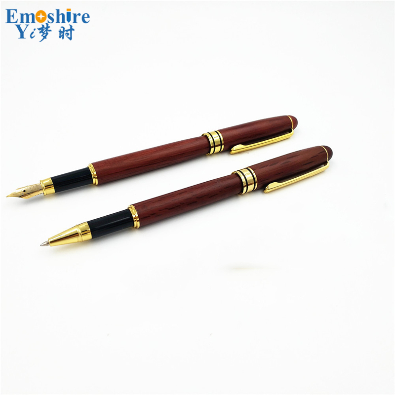 Emoshire Roller Ball Pen and Fountain Pen Cufflinks Gift Sets (6)