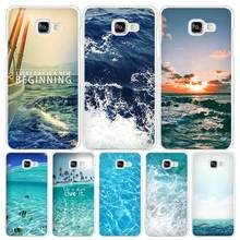 sea ocean Hard White Coque Shell Case Cover Phone Cases for Samsung Galaxy A3 A5 A7 2016 2017 A8 A9