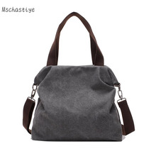 Mschastiye 2017 Casual Beach Woman Canvas Bags Women Shoulder Bag Female HandBags Crossbody Bag For Women White Tote Bags Bolsa