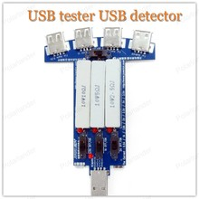 USB tester voltmeter ammeter current voltage power meter capacity monitor USB multi-function charger head data line test tester(China)