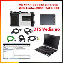For mercedes benz star diagnosis MB STAR C5 sd connect C5 and with 2017 09 Software 240G SSD D630 laptop diagnostics-tool