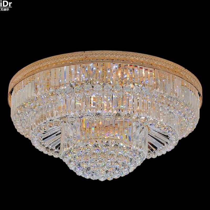 Moderne Kreis Wohnzimmer Lampe Kristall LED Lampen Schlafzimmer Esszimmer Beleuchtung Deckenleuchten Lmy 051