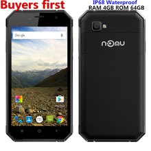 Original Nomu S30 MTK6755 Octa Core Android 6.0 Mobile Phone 5.5 Inch 5000mAh 4G RAM 64G ROM 13.0MP 4G LTE Waterproof Smartphone(China)
