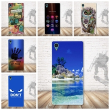 Buy Luxury 3D Pattern Back TPU Cases Soft Silicone Case Cover Sony Xperia Z3+ E6553 / Z3 Plus dual E6533 / Sony Z4 Phone Cases for $1.76 in AliExpress store