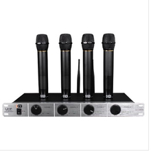 KFW WK-U4200 UHF wireless microphone karaoke microphone One receiver with Four transmitter meetings OK performances(China)