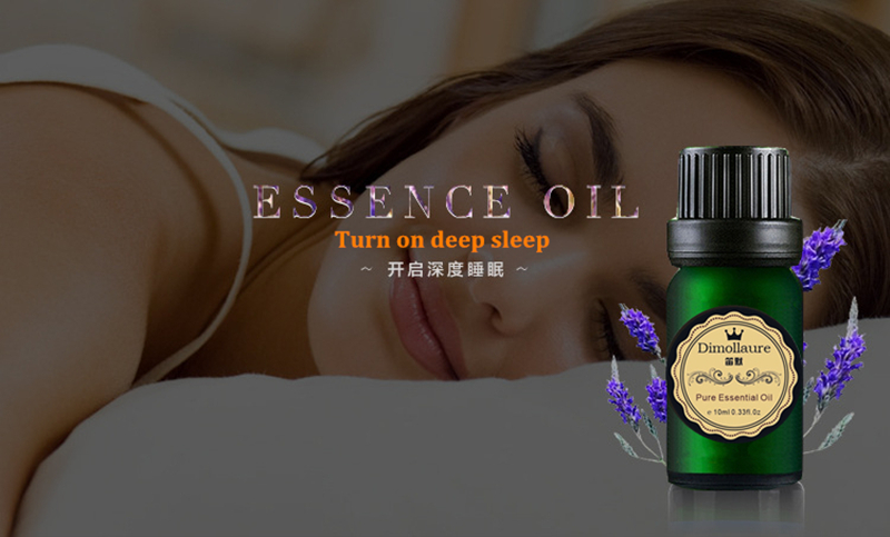 Dimollaure Good sleep essential oil Improve insomnia relax mood Aromatherapy fragrance lavender essential oil 9