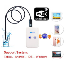 Wireless WiFi 8MM Endoscope Camera IOS Iphone Endoscope Wi-Fi USB Android Borescope Inspection Waterproof Snake Cable Camera