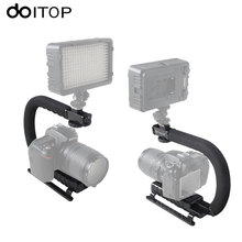 Buy DOITOP Steadycam U-Grip Shoe Mount C-shaped Single Handgrip Camera Stabilizer Steadicam SONY Canon Nikon DSLR Stabilizer for $17.76 in AliExpress store