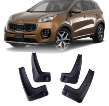 For 2017 2018 Kia Sportage Without Running Board Mudflaps Mud Flap Flaps Splash Guard Bumper Mudguards Front Rear Fender Molded(China)
