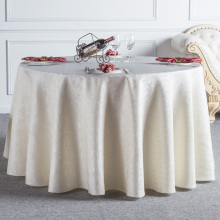 Beige Red Coffee Round Table Cloth Lace Edge Tablecloths for Wedding Resturant Party Table Cover Tafelkleed Manteles Para Mesa