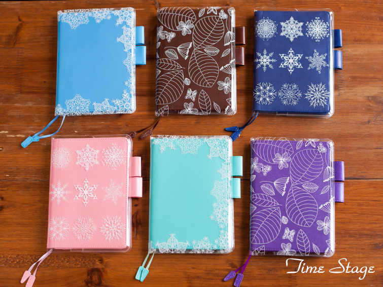 A5 A6 Transparent  hobonichi pvc protect cover set billbook notebook notepad bookbinder's protective case hobo