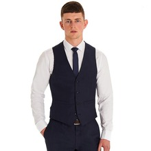 2018 Custom Formal Wool Men's Waistcoat New Arrival Fashion Groom Vests Casual Slim Vest Custom Made(China)