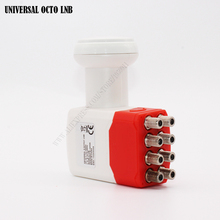 HD Universal LNB For Satellite TV Receiver KU BAND OCTA LNB Extreme High Gain Universal 8 out LNBF(China)