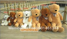 10pc/lot 200cm teddy bear skin plush toys  and low price skin holiday gift birthday gift valentine gift free shipping