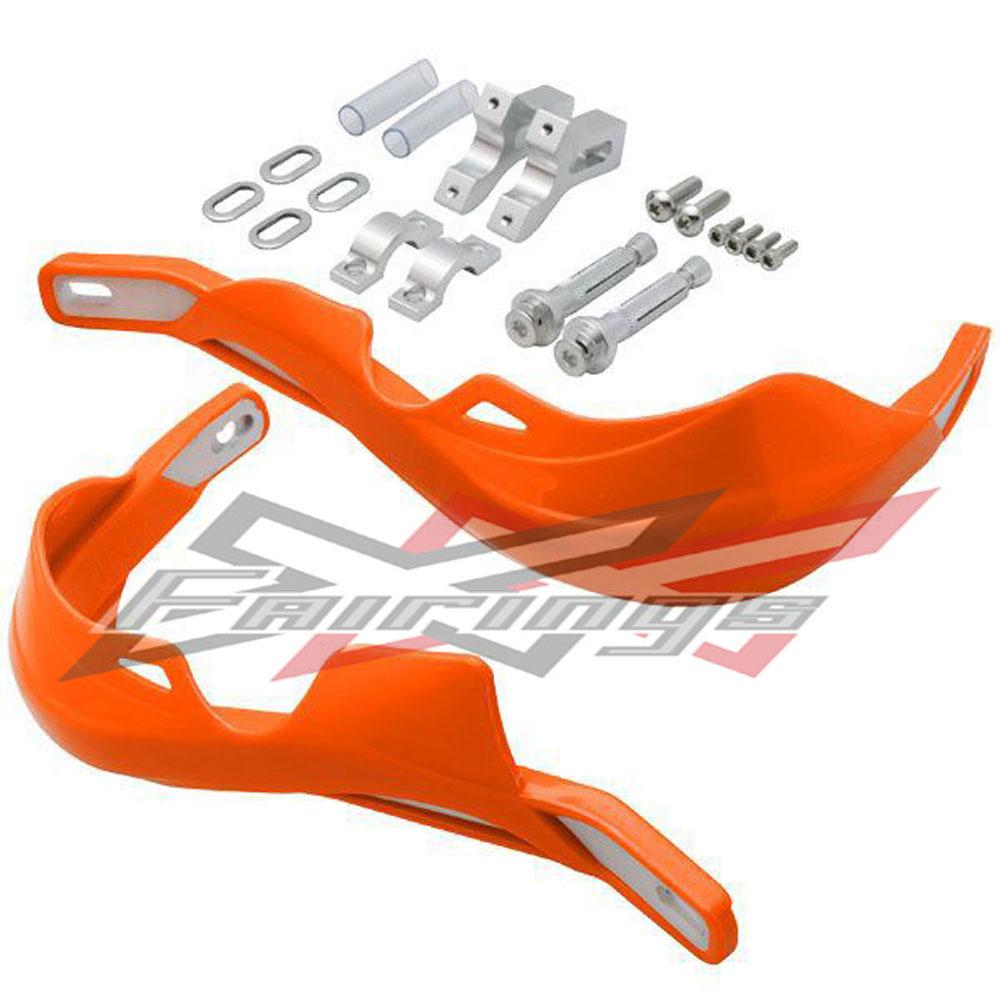 Motorcycle Motocross Dirtbike MX ATV Handguards Handlebar Brush Guards For KTM 125 144 150 250 300 400 450 500 525 690 Handguard<br>