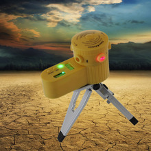 1pcs New Laser Laser point indicator Level Leveler Vertical Cross Horizontal Line Tool With Tripod LED Night view Function