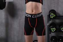 kids running tights boys tight shorts youth compression fitness workout gym bodybuilding trousers kids breathable sports shorts(China)