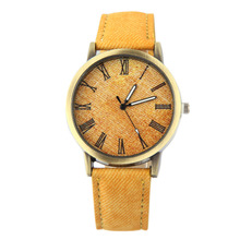New 2017 Fashion Jeans Watch Men Sports Analog Quartz Clock Casual Women Watches relogio feminino saat
