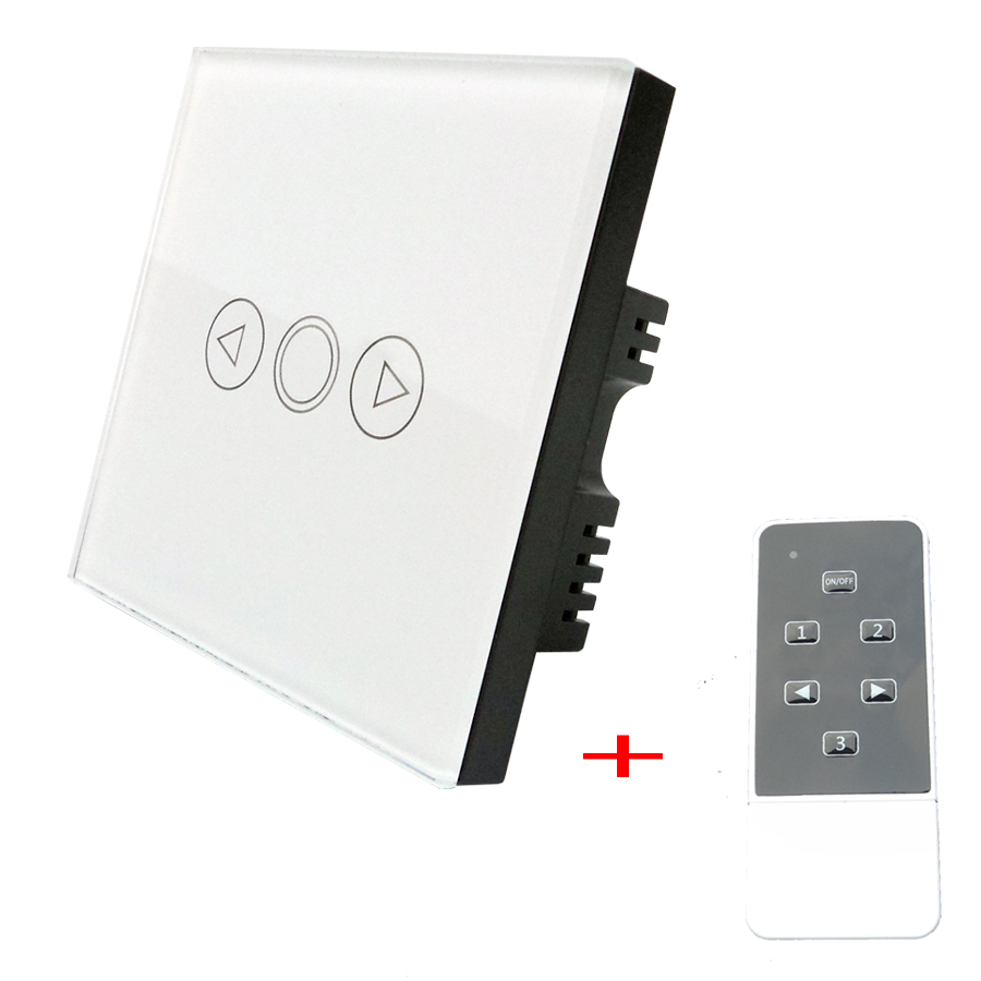 VHOME Smart Home Switch, WHITE UK Standard wireless RF433MHz remote 110-240v Smart wall Switch Light Dimmer Switches control<br><br>Aliexpress