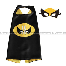 Halloween 1set wolverine cape with MASK Male children's birthday party mask faver cosplay Halloween fashion gifts cosplay(China)