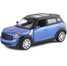 High Simulation Exquisite Model Toys ShengHui Car Styling MINI COOPER S Countryman Model 1:32 Alloy Car Model Excellent Gifts(China)