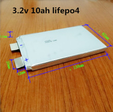 1pcs 3.2 v 10Ah lifepo4 power battery  UPS battery, inverter battery