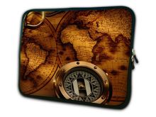 "Map and Compass 15"" Laptop Bag Case Cover For 15.6"" HP Pavilion,Dell ,Acer Notebook"