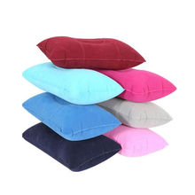 1pcs  Inflatable Pillow Travel Air Cushion Camp Beach Car Plane Head Rest Bed Sleep for Outdoor Sport