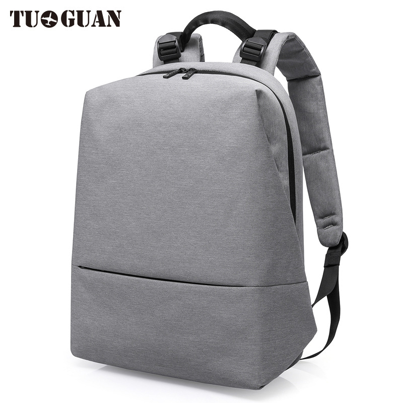 TUGUAN 2017 Fashion Man Waterproof Laptop Backpack Simple Travel Business Casual Solid Back Pack Men School Bags for Boys<br>